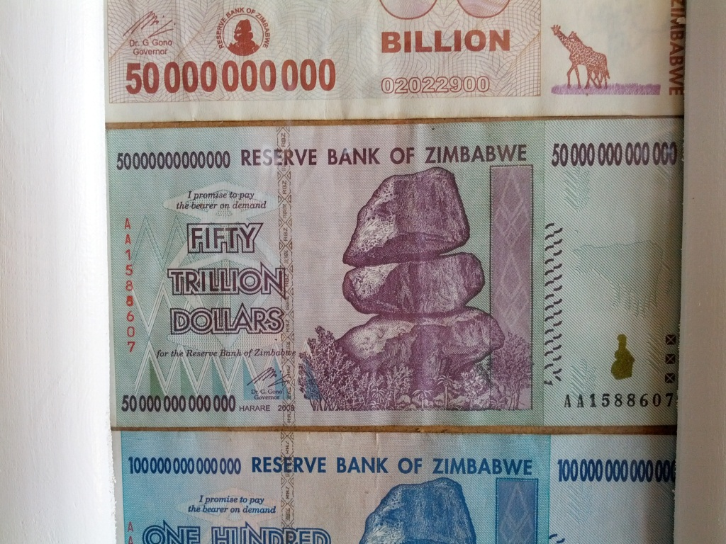 zimbabwe a worthless currency