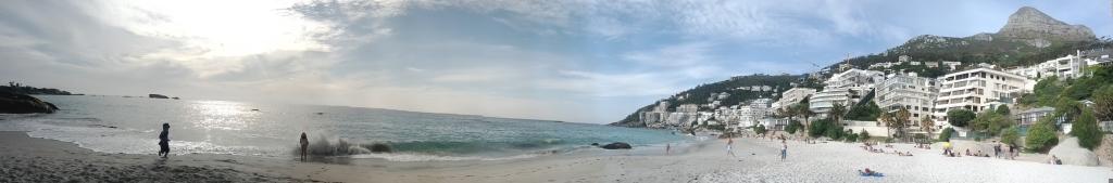 Panaramic of Clifton Beach 2