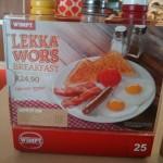 Lekka Wors Wimpy Breakfast