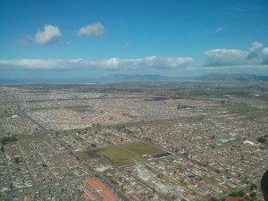 Cape Flats from the air
