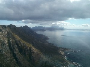 Heading to Cape Point