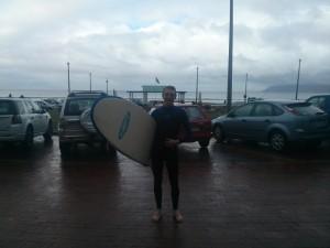 Rick Mudie Surfing