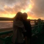 Bobaloting sunset on Brighton Pier